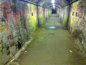 Redhill station foot tunnel